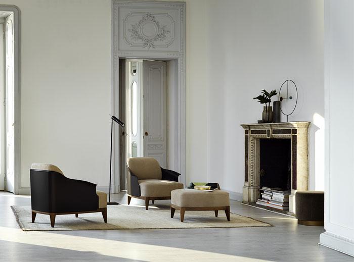 cocoon armchair pouf 9