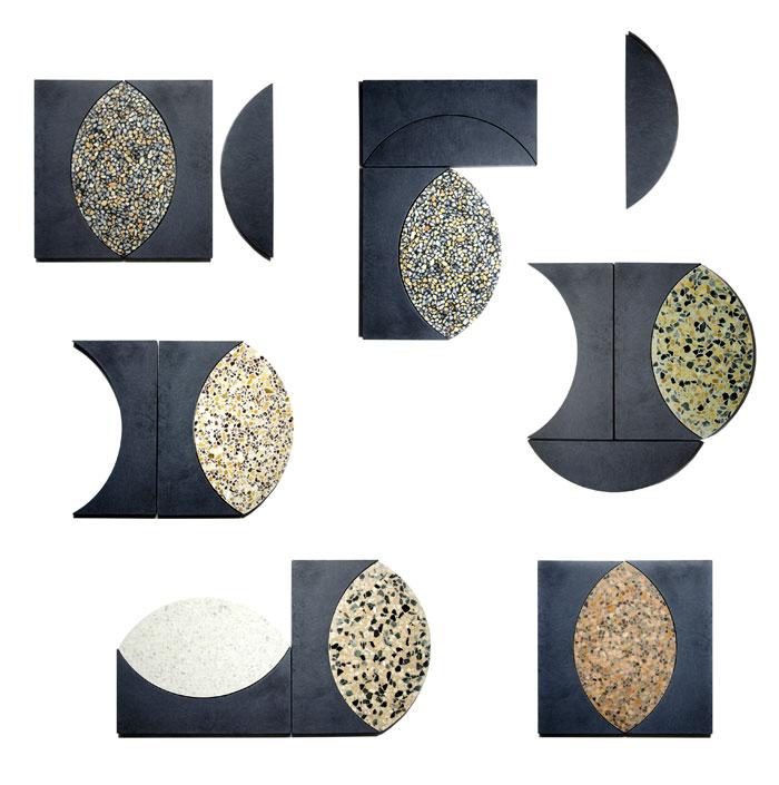 kaza concrete terrazzo mix floor tile 11