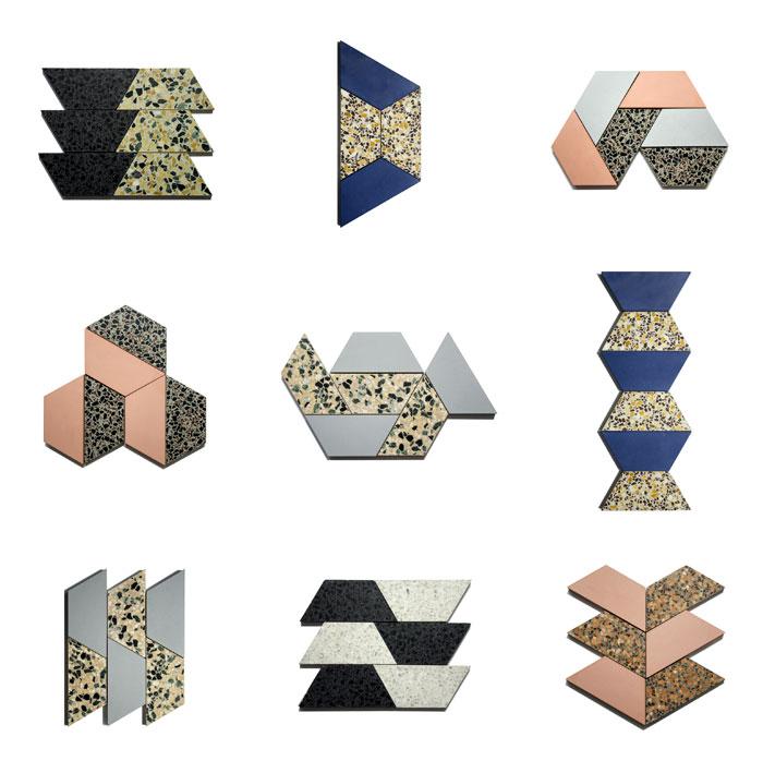 kaza concrete terrazzo mix floor tile 12
