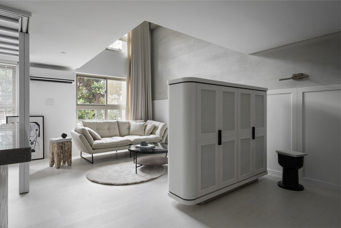 mezzanine apartment studioin2 4