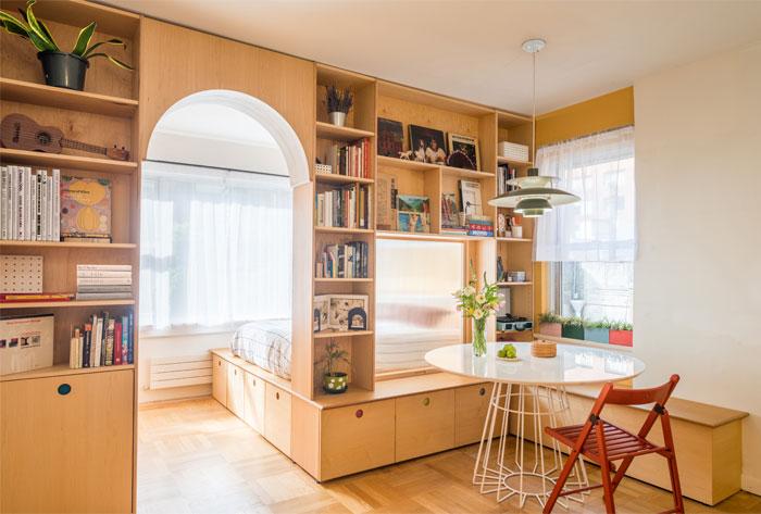 limited space apartment sandy wen studio 7