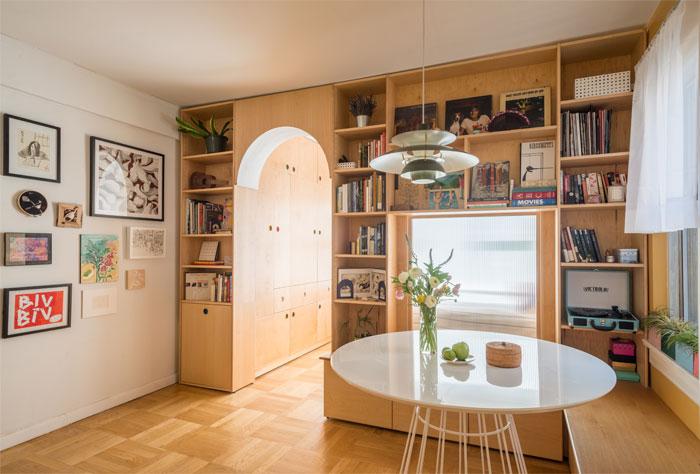 limited space apartment sandy wen studio 8