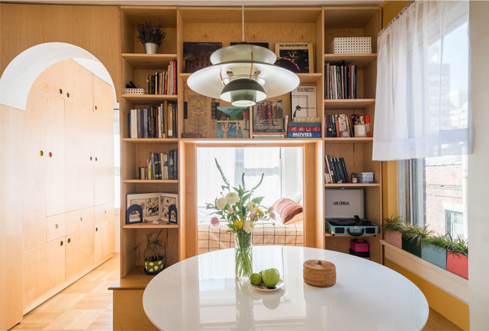 limited space apartment sandy wen studio 9
