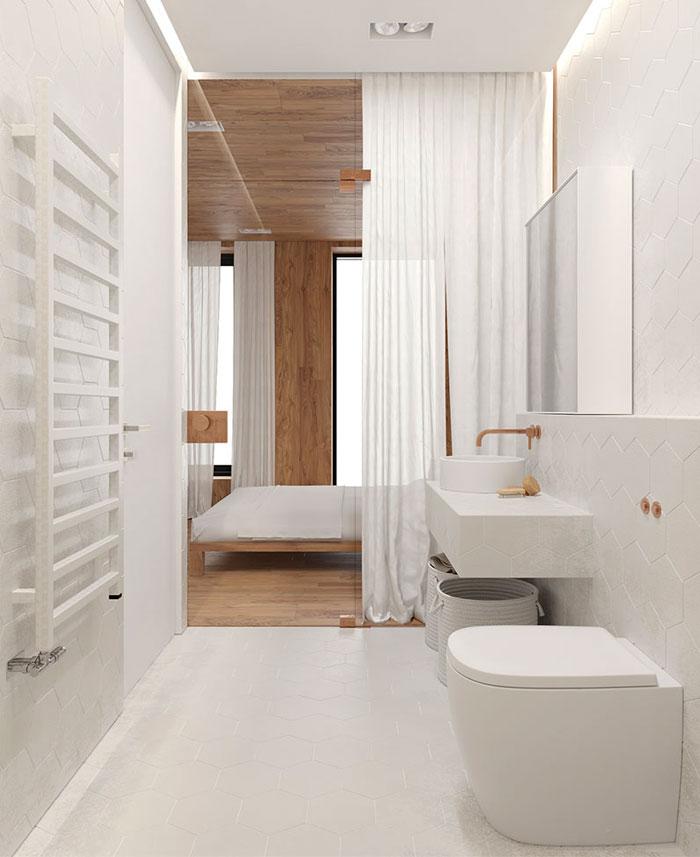 white studio apartment sirotov architects 11