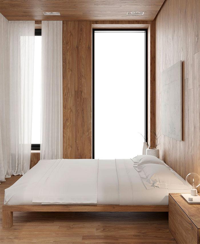 white studio apartment sirotov architects 12