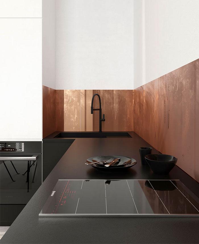 white studio apartment sirotov architects 6