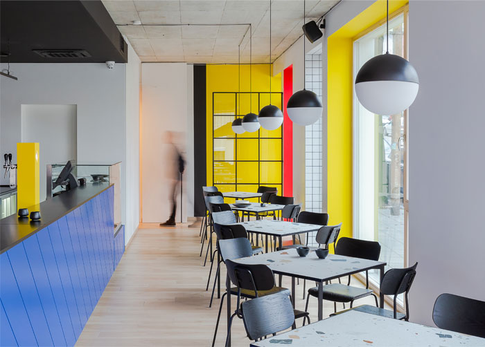 aiai architects interior lola cafe vilnius 11
