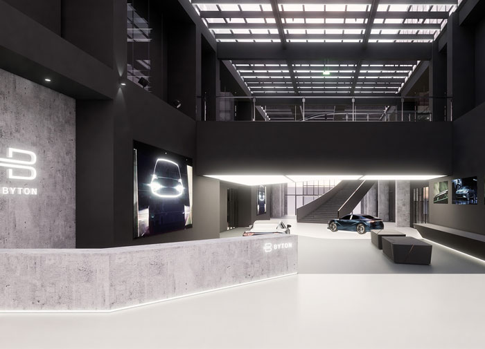 byton production base office 15