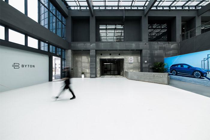 byton production base office 23