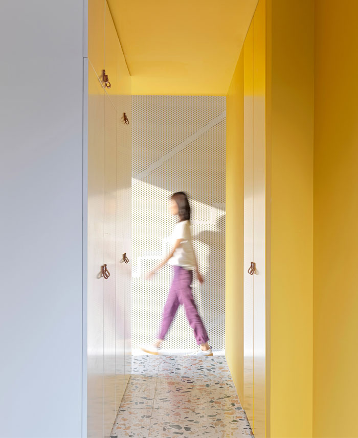house p yellow apartment interiors mddm 7