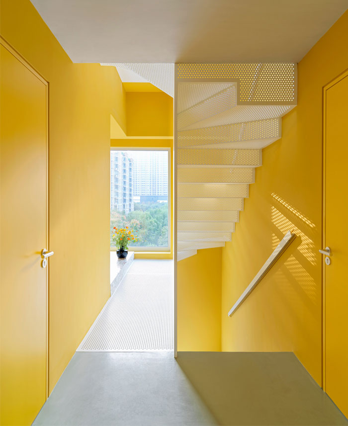 house p yellow apartment interiors mddm 8