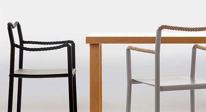 Rope Chair by Ronan & Erwan Bouroullec for Artek