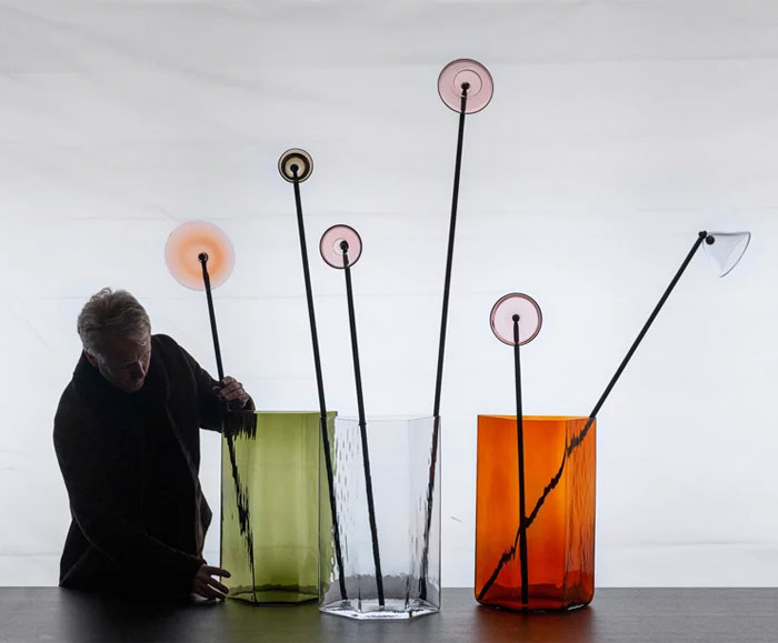 bouroullec vases iittala imperfections exhibition stockholm 1