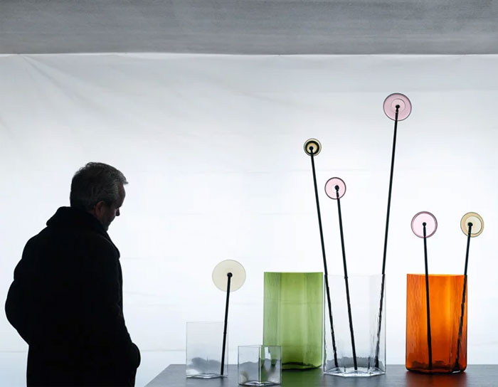 bouroullec vases iittala imperfections exhibition stockholm 2