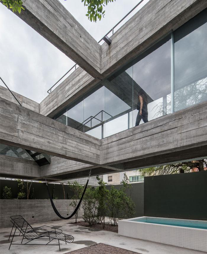 eight beams house covachita taller de arquitectura 1
