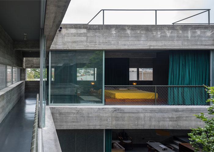 eight beams house covachita taller de arquitectura 14