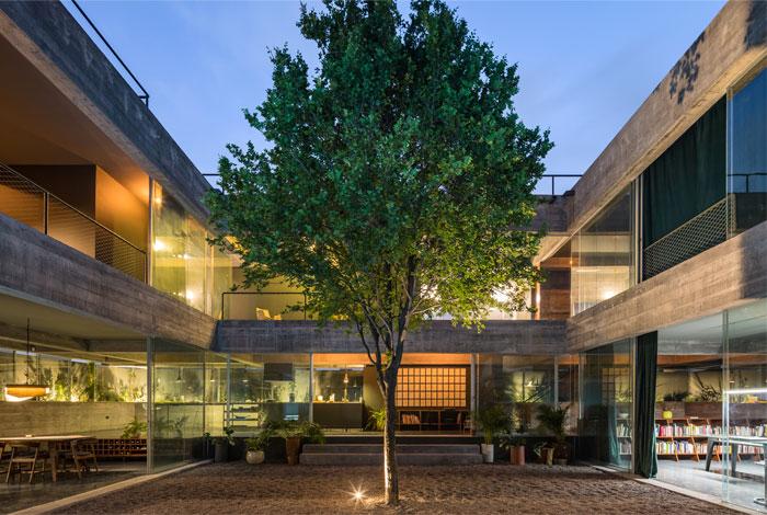 eight beams house covachita taller de arquitectura 15
