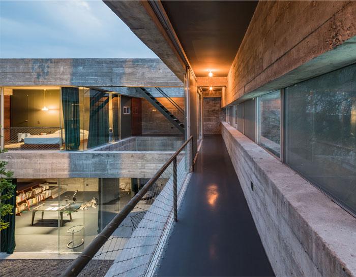 eight beams house covachita taller de arquitectura 17