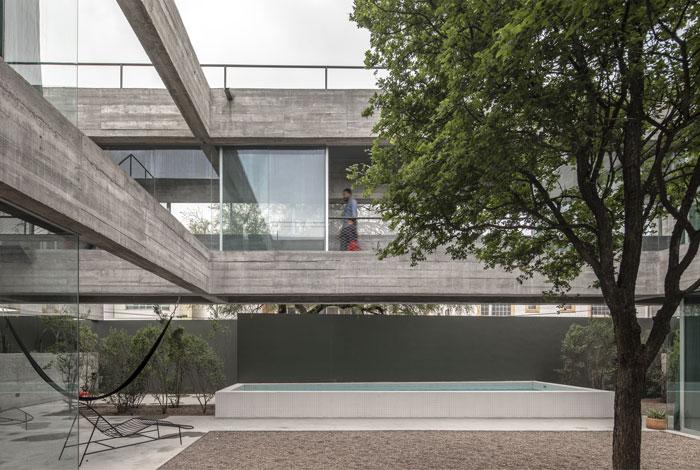 eight beams house covachita taller de arquitectura 19