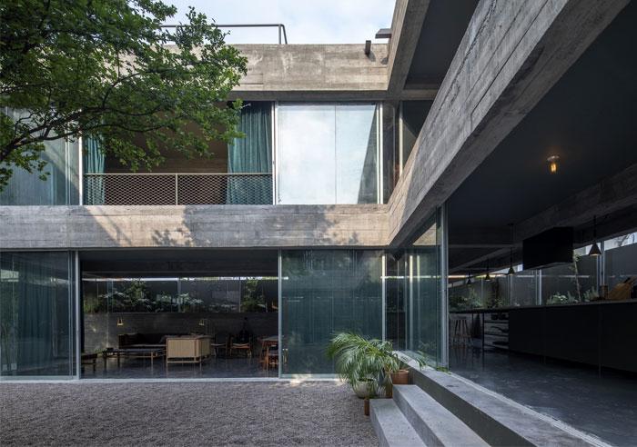 eight beams house covachita taller de arquitectura 3