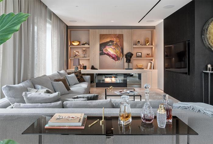 New York Style Apartment Designed By Katarzyna Kraszewska Interiorzine