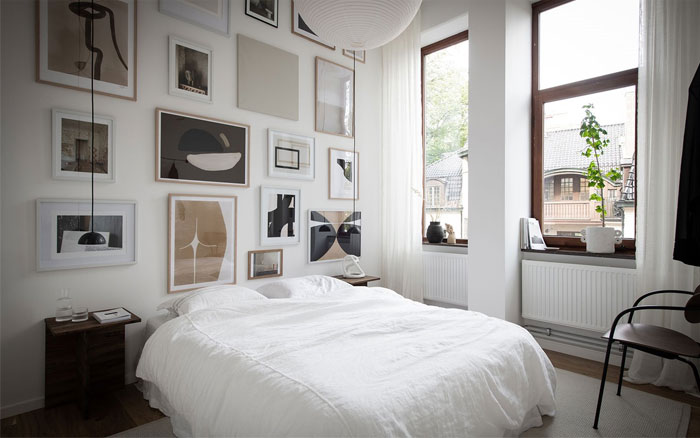 scandinavian style apartment nouvel interior 12