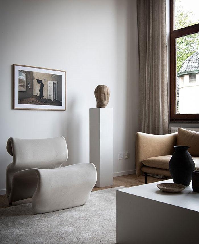scandinavian style apartment nouvel interior 4