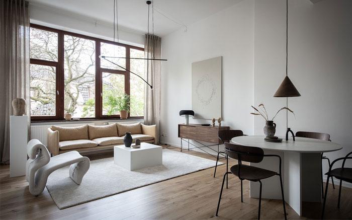scandinavian style apartment nouvel interior 5