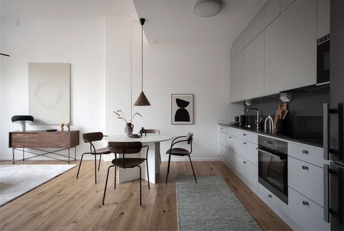 scandinavian style apartment nouvel interior 6
