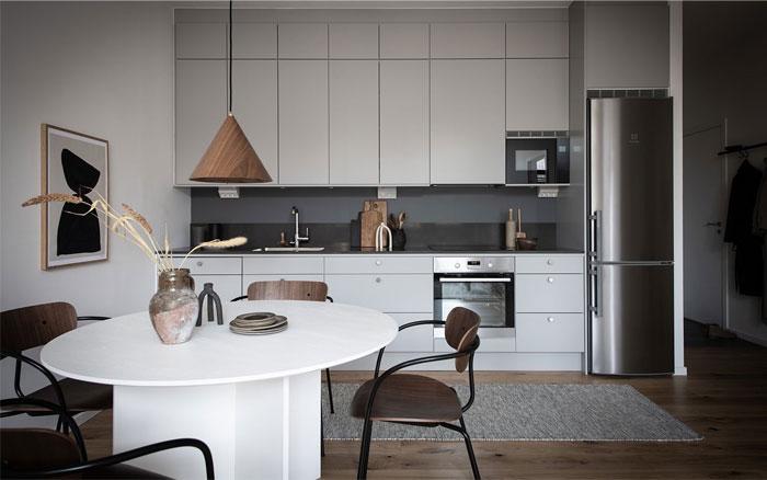 scandinavian style apartment nouvel interior 8