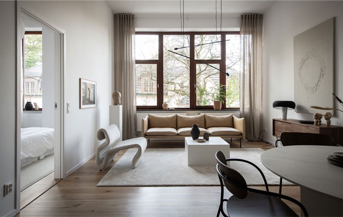 scandinavian style apartment nouvel interior 9