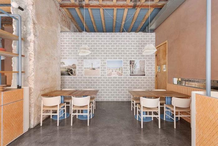 28 posti restaurant interiors milan 5