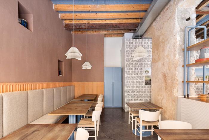 28 posti restaurant interiors milan 6