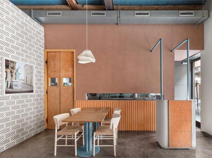 28 posti restaurant interiors milan 7