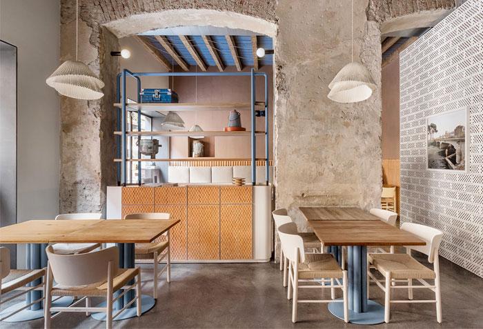 28 posti restaurant interiors milan 9