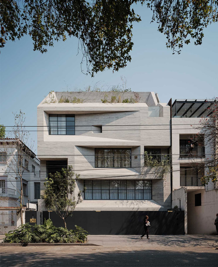 apartment building mexico city studio rick joy 1