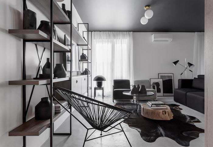 earth grey apartment bogdan ciocodeica studio 2