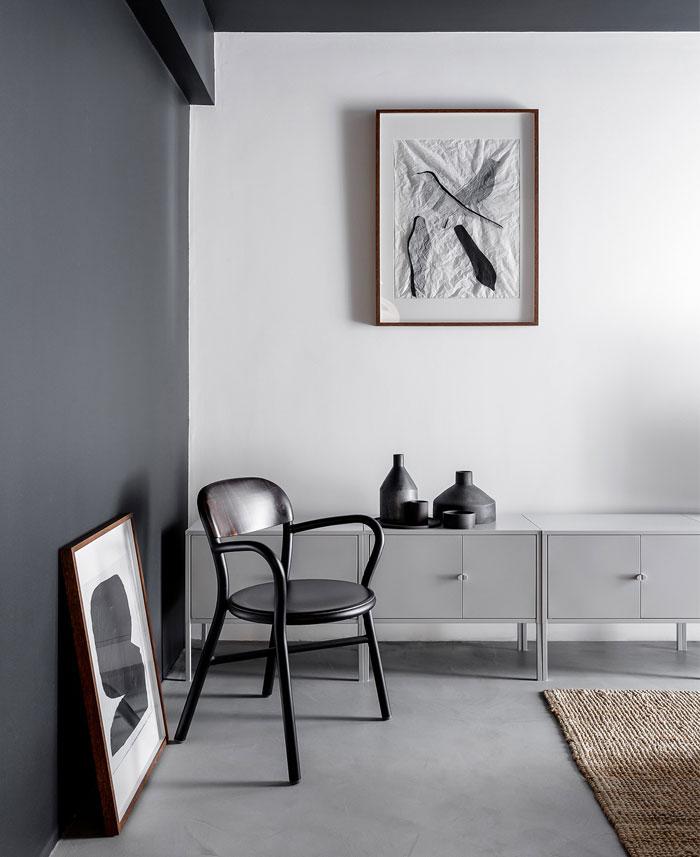 earth grey apartment bogdan ciocodeica studio 7