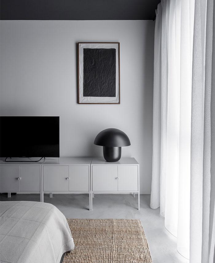 earth grey apartment bogdan ciocodeica studio 9