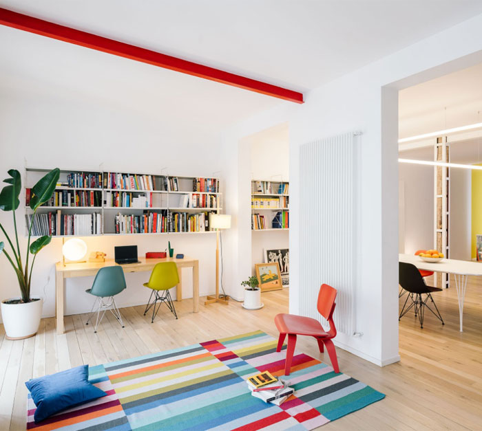 gon architects fluid living space madrid 1