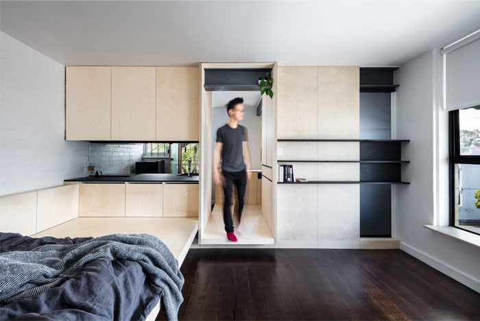 minimum dwelling studio apartment 1