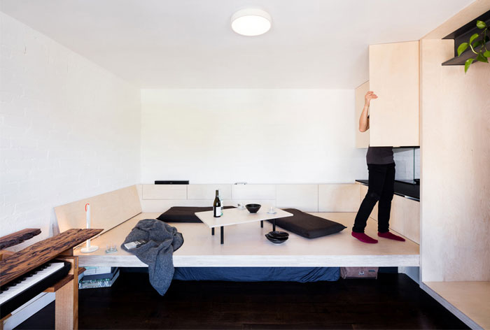 minimum dwelling studio apartment 2