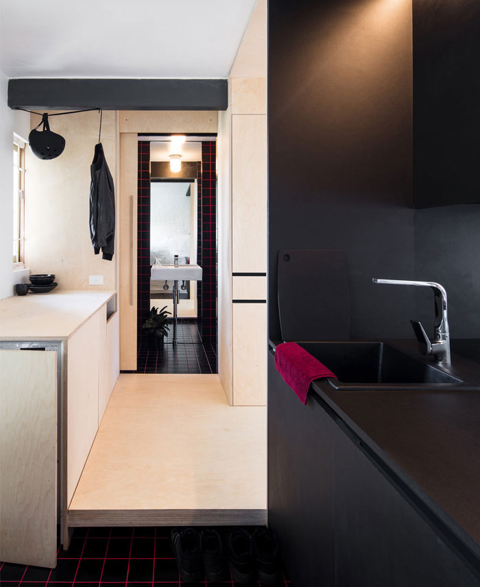 minimum dwelling studio apartment 7