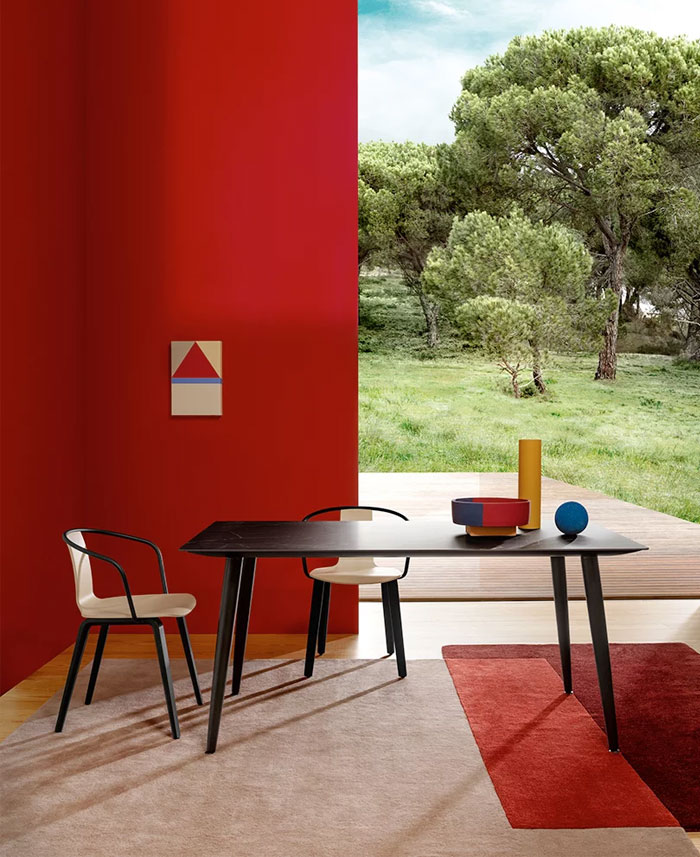 pedrali tale indoor outdoor collections casa 3000 4