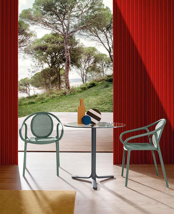 pedrali tale indoor outdoor collections casa 3000 5