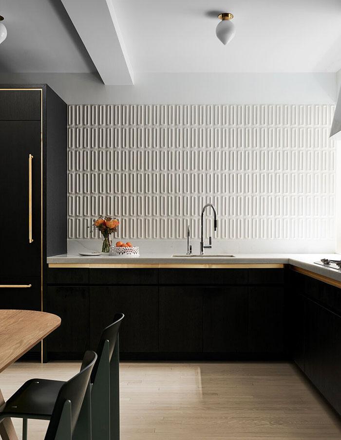 3d kitchen tiles backsplash idea