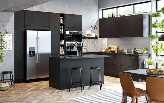 80 black kitchen cabinets designs ideas 338x212