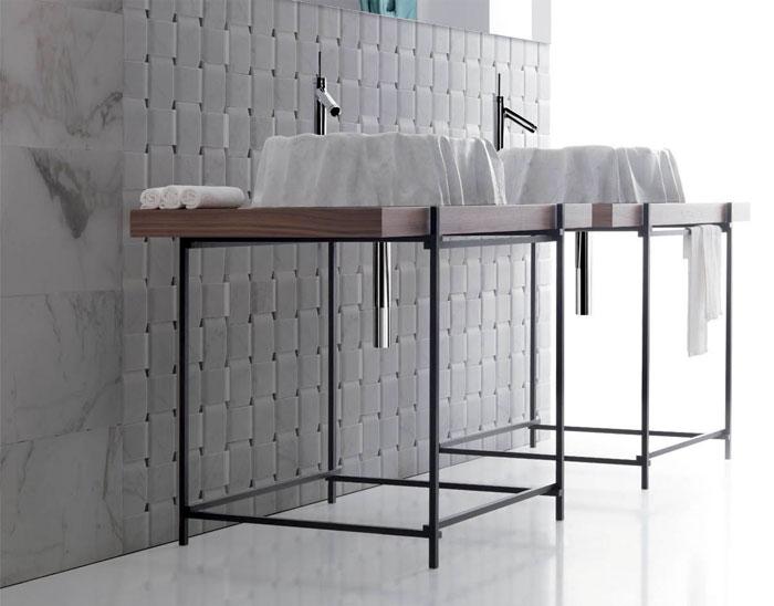 bathroom stone age aesthetic washbasin enzo berti 2