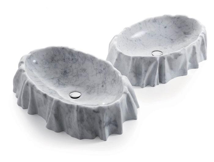 bathroom stone age aesthetic washbasin enzo berti