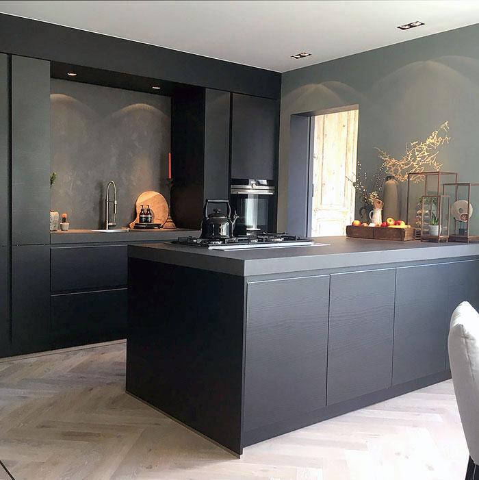 black kitchen cabinets creative ideas